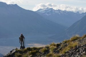 Tahr country in New Zealand