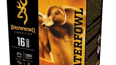 Photo of Now Shipping: Browning 16-Gauge Waterfowl Ammunition