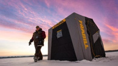 Photo of Get Ready for Ice Season with Frabill's Flip-Over Shelters