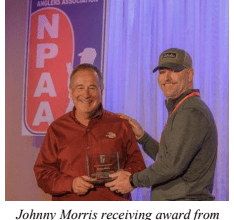 """Photo of NPAA Bestows Industry Legend Johnny Morris with """"Look to the Future"""" Award"""