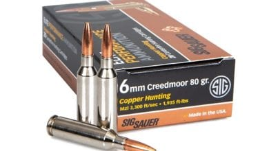 Photo of SIG SAUER Introduces 6mm Creedmoor Elite Copper Hunting Ammunition