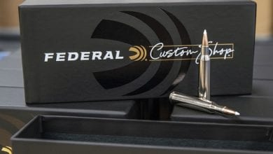 Photo of Federal Custom Shop Now Offers Fourteen Options of Centerfire Cartridges for Big Game Hunting